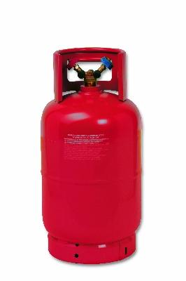 12 5 lt refillable bottles with r32 refrigerant with for Refrigerante r32